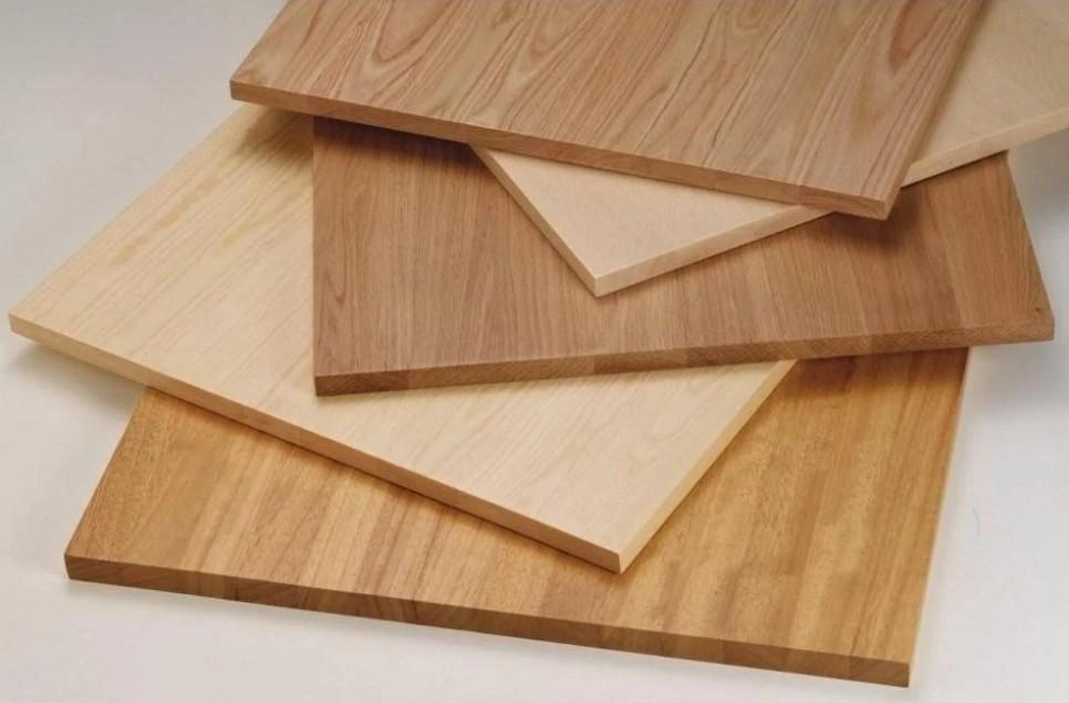 Деревянный мебельный щит