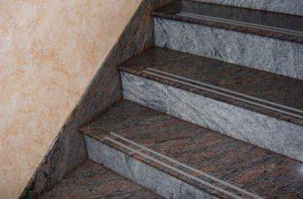raznovidnosti lestnic iz granita