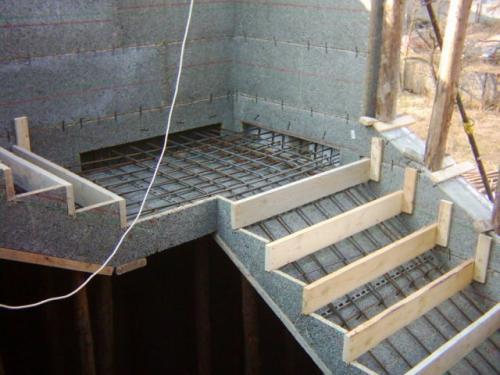 tehnologiya ustrojstva betonnoj lestnicy
