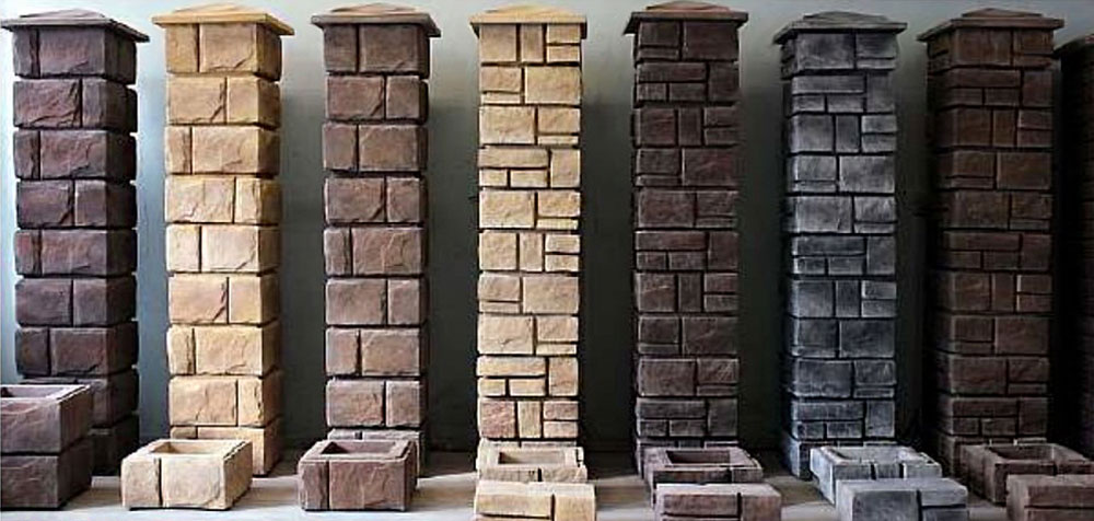 dekorativnye bloki dlya stolbov zabora